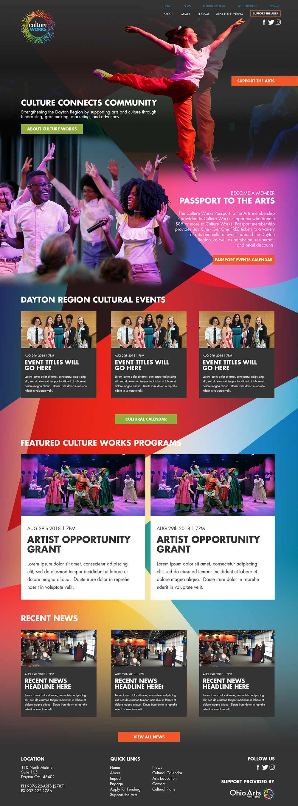 culture works website
