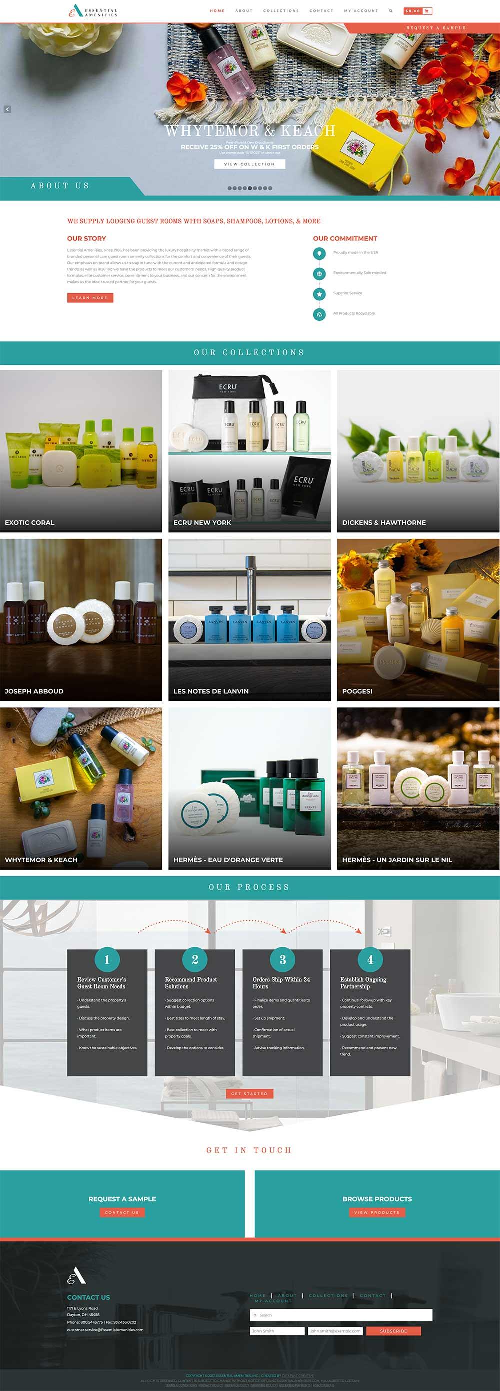 essential amenities website