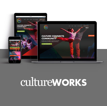 Culture Works Arts and non-profit website development