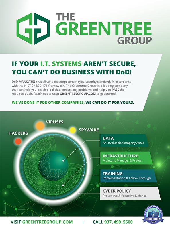 Greentree Group print advertising design
