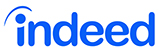 Advertise with Indeed logo