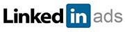 Advertise with LinkedIn logo