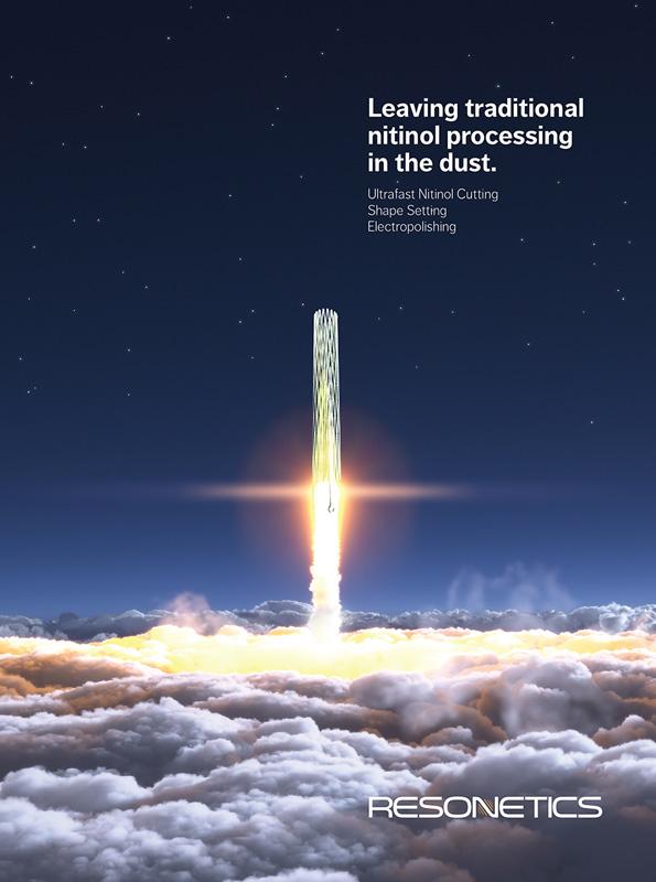 Resonetics print advertising design