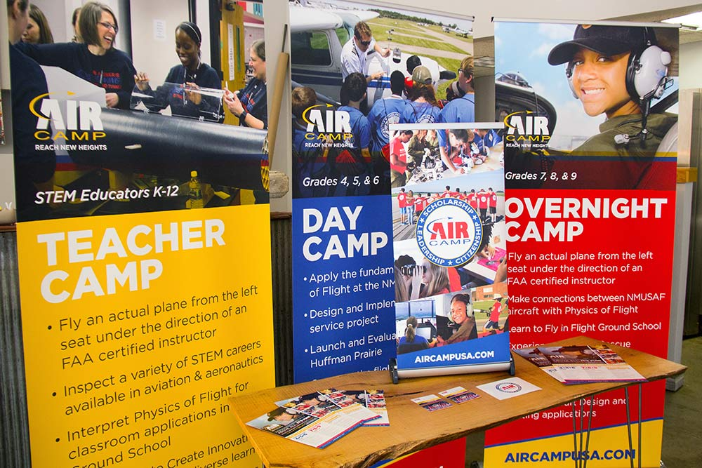 Air Camp Branding