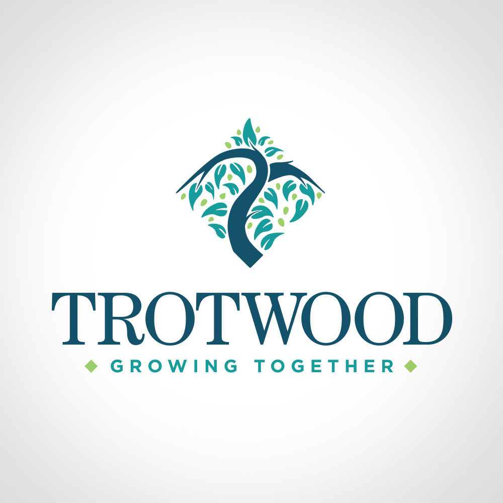 city of Trotwood branding